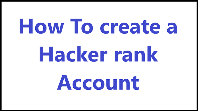 How To create a Hacker rank Account - Algomentor