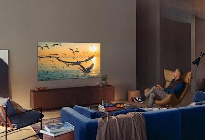 Samsung presentó novedosos televisores 2021