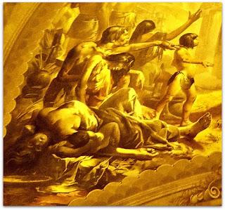 Os Índios em 'Teresinha, Padroeira das Missões', Aldo Locatelli (1955), Igreja Santa Teresinha
