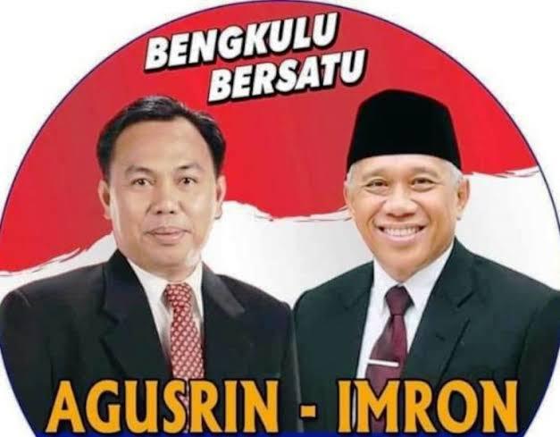 Menang Sengketa, Agusrin-Imron Lolos Pilgub