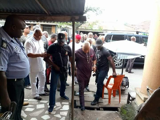 ARARAUME RETURNS, VISITS FAMILY OF THE 10-YEARS OLD BOY KILLED DURING EKEUKWU MARKET DEMOLITION,