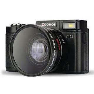 Cognos C24 Mirroless Digital Camera 3.0 TFT 24MP SLR HD 1080p