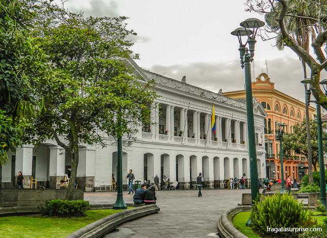 Palácio de Carondelet, sede do governo do Equador