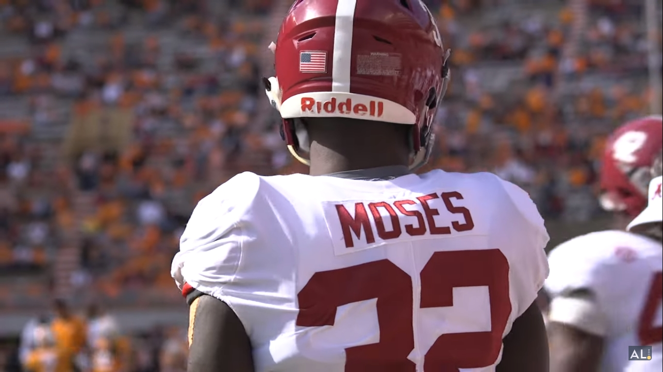 Alabama LB Dylan Moses, TE Miller Forristall Sign as Undrafted Free Agents