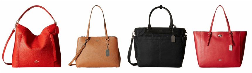 Coach: Large Scout Hobo $160 (reg $395) | Stanton Carryall $160 (reg $395) | Crosby Business Tote $165 (reg $368) | Turnlock Tote $140 (reg $295)