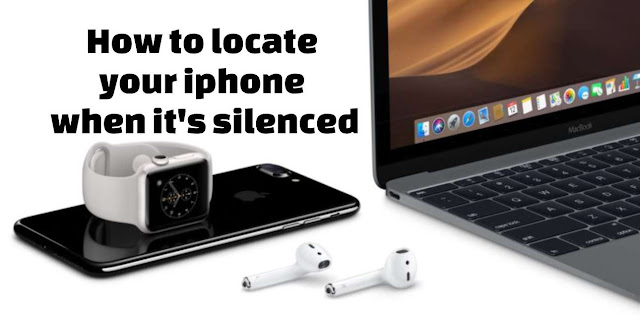 locate your Apple iPhone when it is silenced