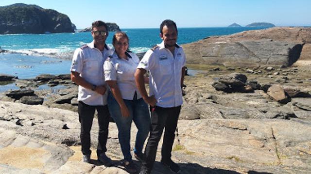 Melhores profissionais: Darlan, Filipe e Marcelle