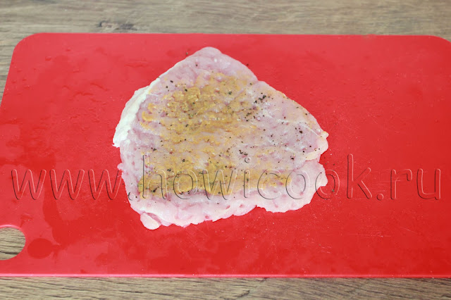рецепт свиных рулетиков с солеными огурцами и салом с пошаговыми фото