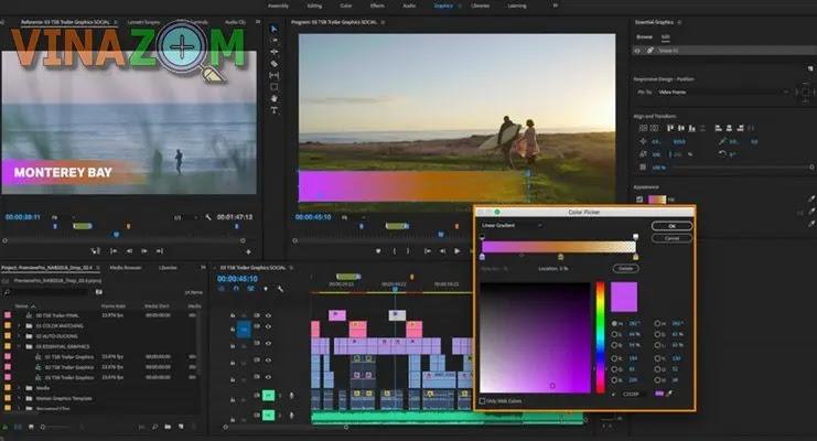 Thông số phần cứng tối thiểu Premiere Pro