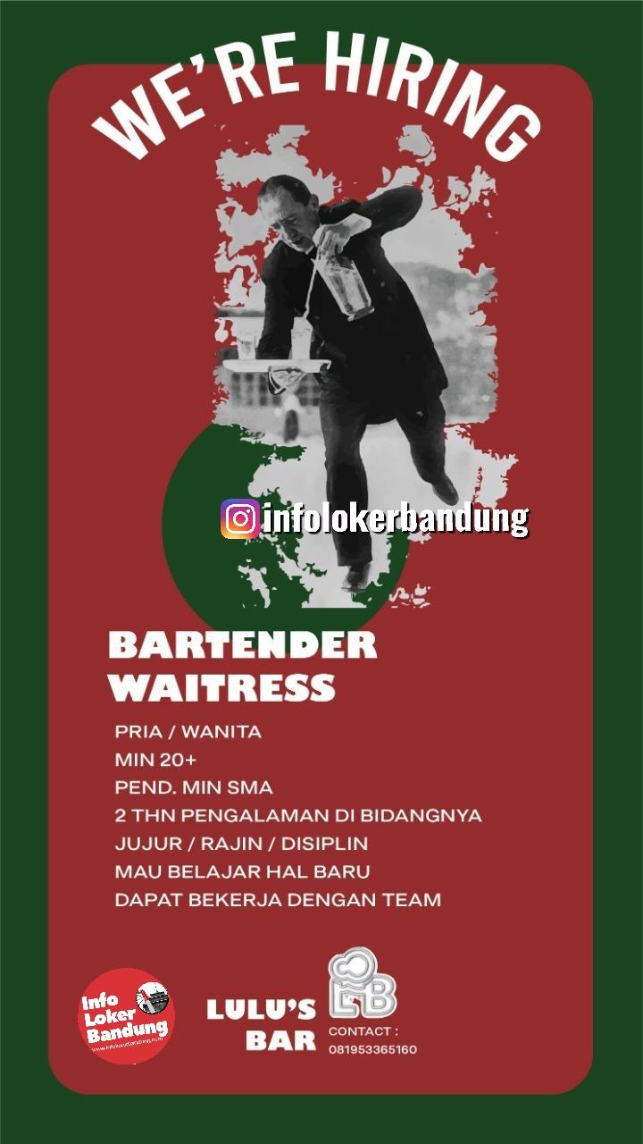 Lowongan Kerja Lulu's Bar Bandung Maret 2020