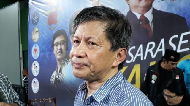 Rocky Gerung: Seharusnya yang Selesaikan Banjir Bukan Anies Tapi Jokowi