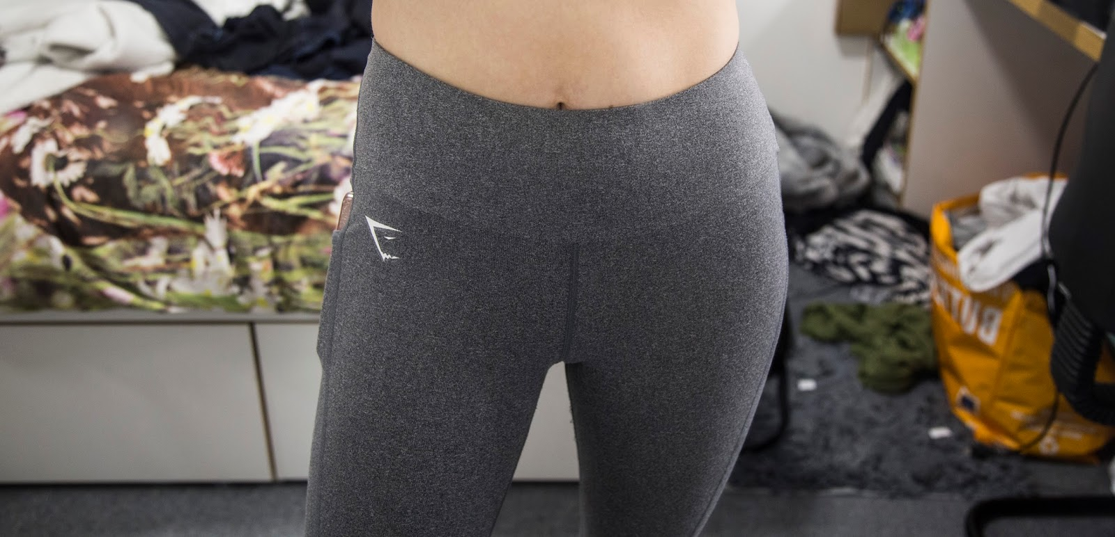 5e34410e203e9 ... the Dry Sculpture leggings and instantly fell in love with how they  looked, they looked thicker, more high waisted and in my opinion more  flattering.
