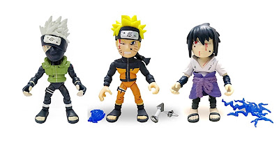 San Diego Comic-Con 2020 Exclusive Naruto Action Vinyls Figures by The Loyal Subjects