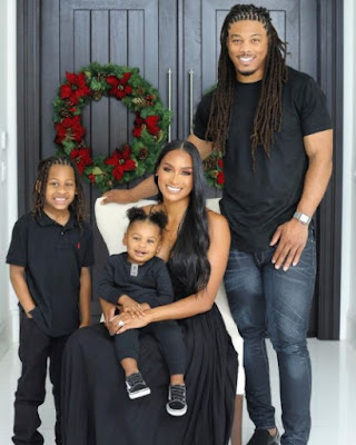 Philip Wheeler and his wife Ashley with their sons