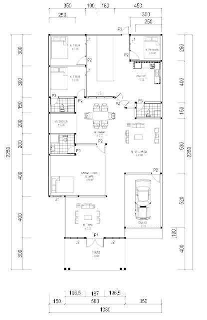 Rumah Minimalis 8 X 15 Omah Jati