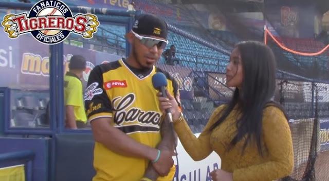 VIDEO: Harold Castro entrevistado por Tigreros Oficiales.