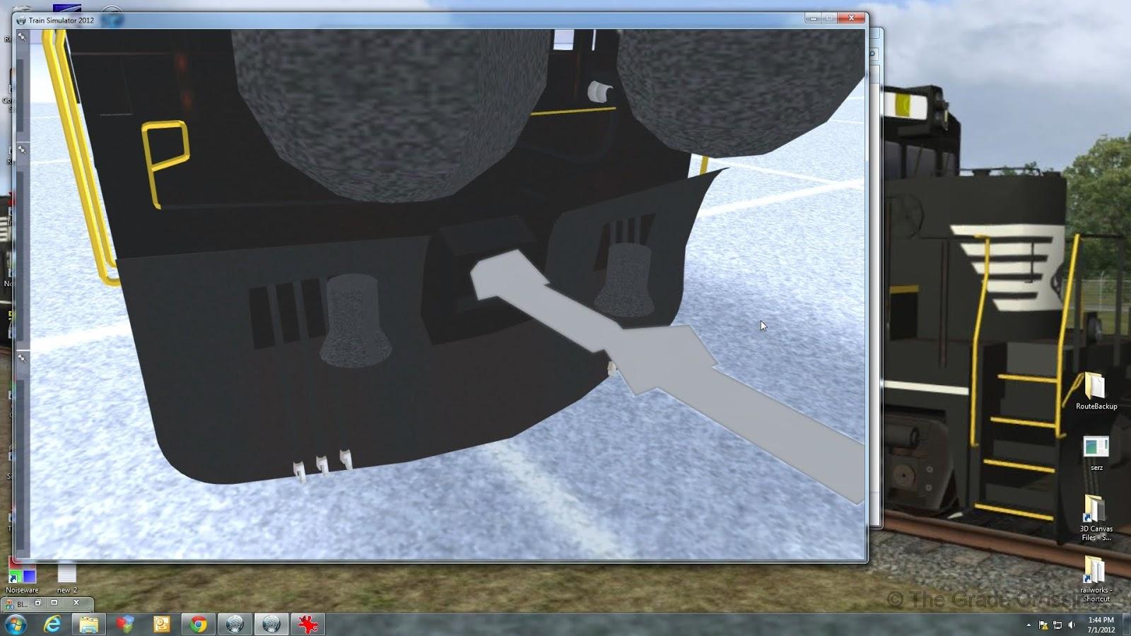 The Grade Crossing: 3DC to Railworks - Locomotive: Blueprinting Part 4