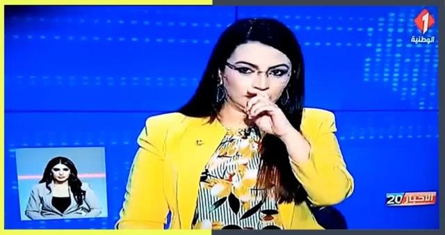 بالفيديو: مقدمة الأخبار الوطنية تتعرض لوعكة صحية في المباشر !