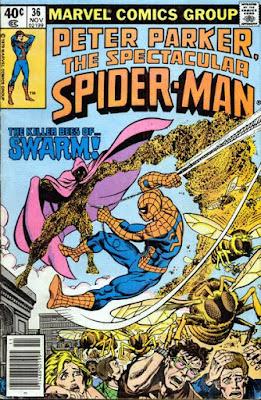 Spectacular Spider-Man #36, Swarm
