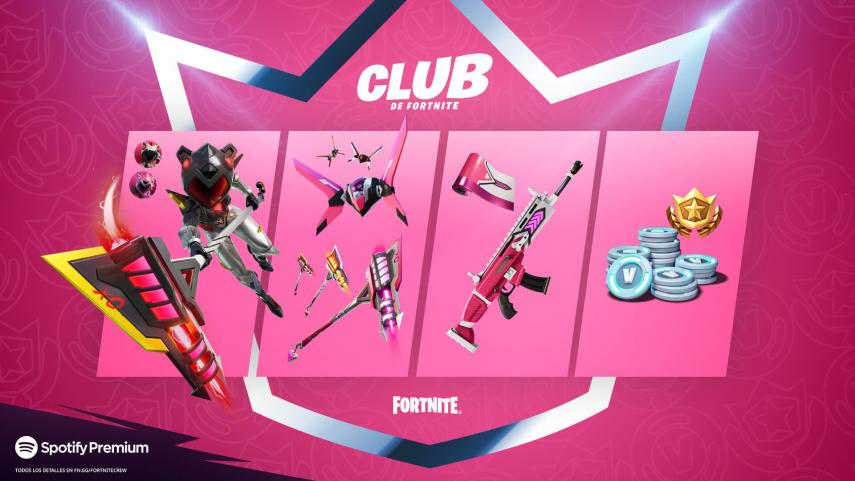 Everything included in the Fortnite club in June 2021
