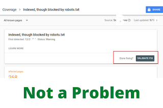 how to fix robots.txt problem during indexing?
