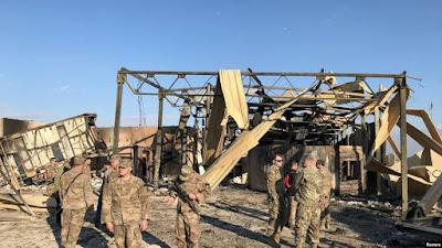 الجيش الأمريكي يقر بوقوع ٨ إصابات بالعراق وراء القصف الإيراني