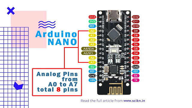 Analog pin of Arduino Nano