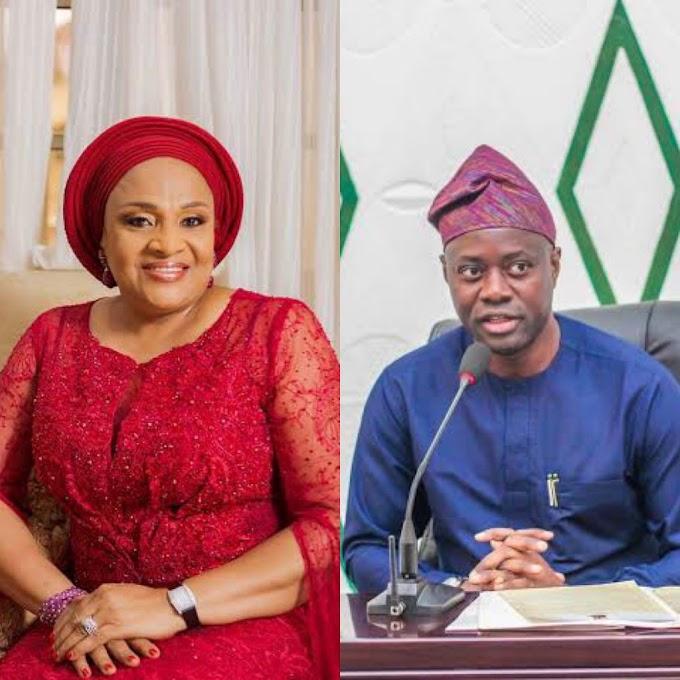 We'll all die – Ajimobi's wife blasts Makinde, deputy