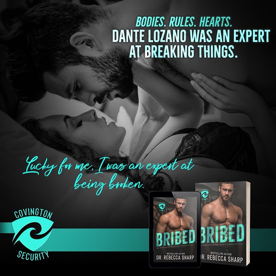 Bodies. Rules. Hearts. Dante Lozano was an expert at breaking things. Lucky for me, I was an expert at being broken.