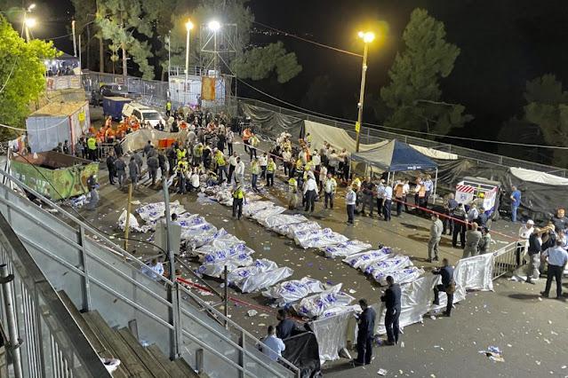 Circa 44 morti e 150 feriti, al raduno degli ebrei ultraortodossi sul Monte Meron