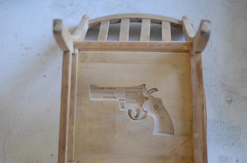 gun chairs