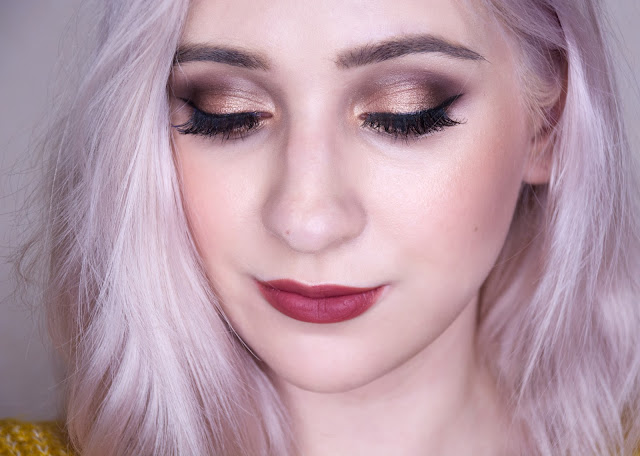 golden smokey eye makeup