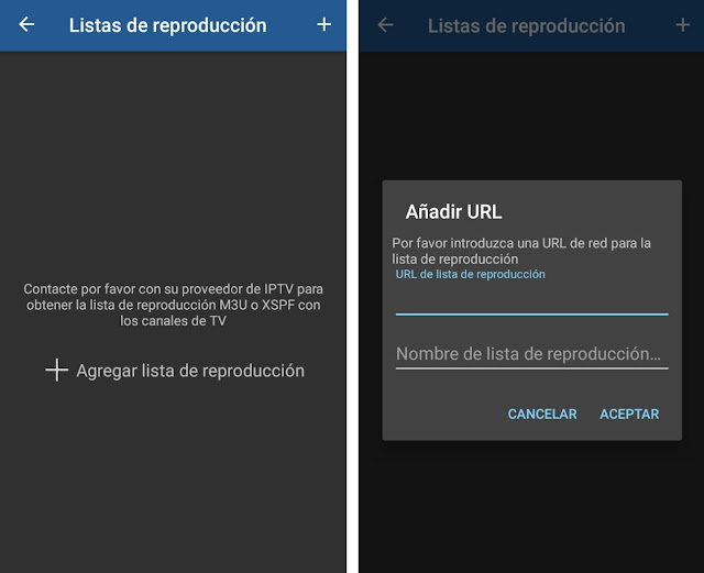 reproductor IPTV