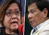 De Lima bumanat kay Pangulong Duterte:  'Kukupad-kupad sa pandemya, tutulog-tulog sa kalamidad'