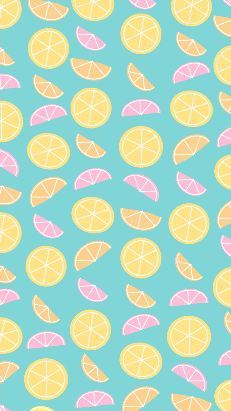 June 2015 iphone desktop wallpapers citrus - Turquoise wallpaper pinterest ...