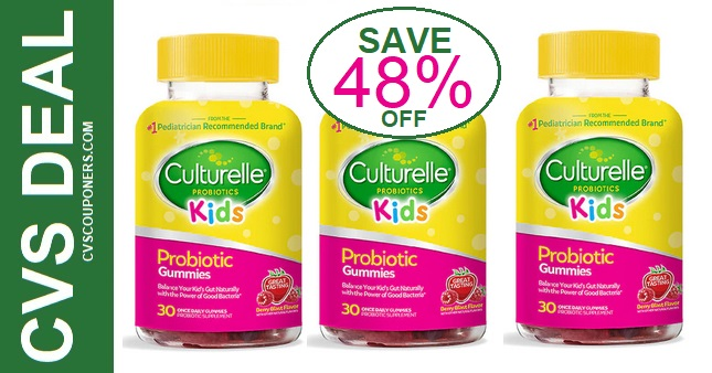 CVS Deals on Culturelle Kids Gummies