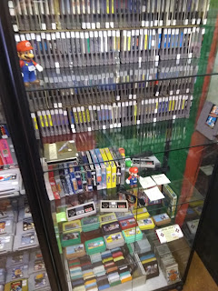 Game Over retro game shop in Amsterdam - NES collectie