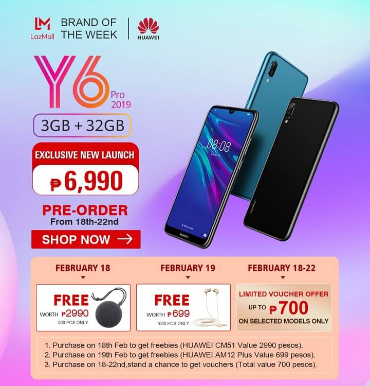 Huawei Y6 Pro (2019) and Y7 Pro (2019) Now Up for Pre-order