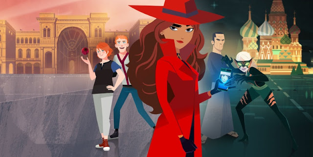 Los Lunes Seriéfilos Carmen Sandiego