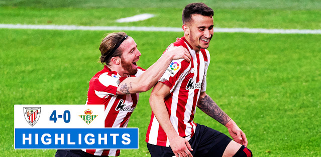 Athletic Club vs Real Betis – Highlights