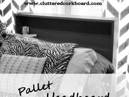 our Pallet Headboard