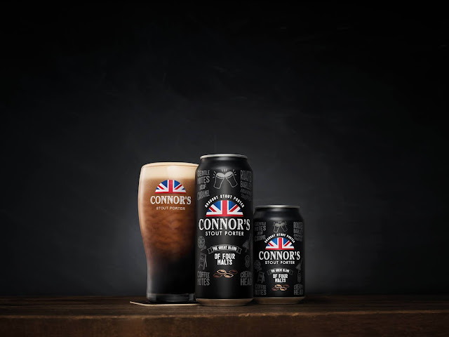 Connor's Stout Porter Draught,  Now In A Can!