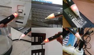 قلم كاشف الكهرباء.جهاز كشف قطع الاسلاك.جهاز كشف السلك المقطوع