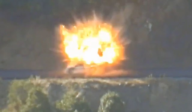 Επίθεση Κούρδων στο Χακκάρι: Ανατίναξαν τουρκικό όχημα-7 Τούρκοι στρατιώτες νεκροί (ΒΙΝΤΕΟ)