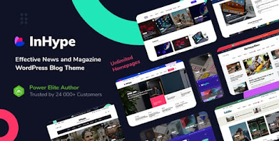 InHype - Blog & Magazine WordPress Theme V1.0.2