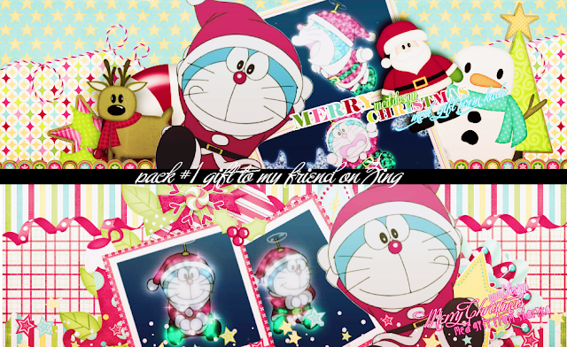 Merry Christmas Doraemon HD Images