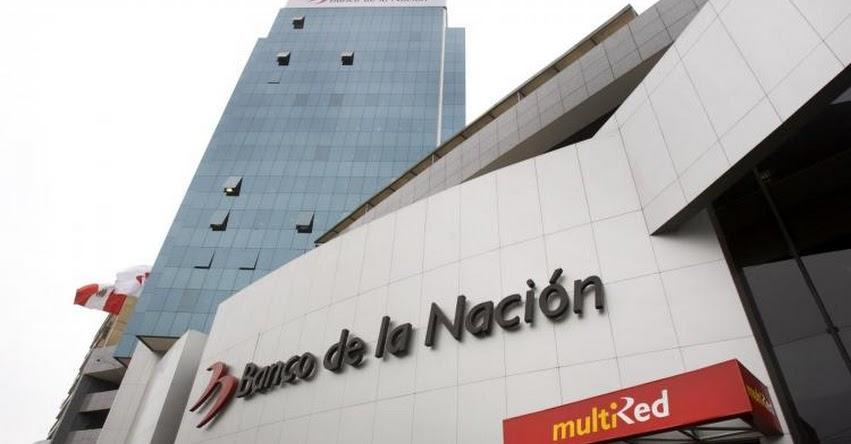 BN: Banco de la Nación atenderá pago de pensiones desde este 7 de junio