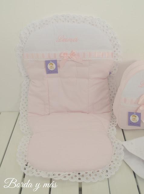 vestidura rosa blanco bugaboo bee