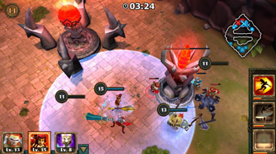 Download Game Legendary Heroes 2.17 APK Unlimited Money