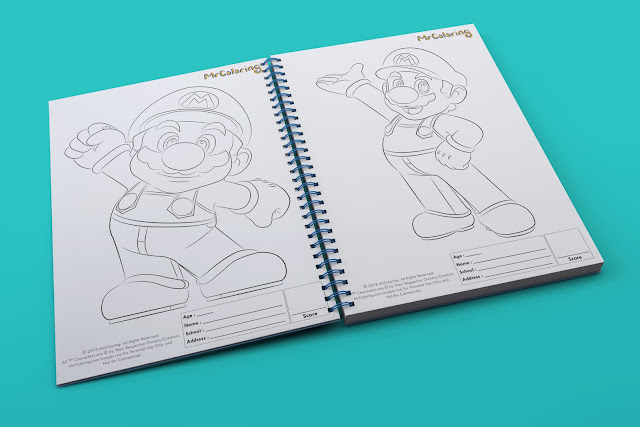 printable paper super mario kart template outline coloriage Blank coloring pages book pdf pictures to print out for kids to color fun colouring page children toddler